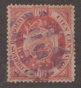 Bolivia Scott #46 Stamp - Used Single