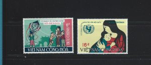 South Vietnam  337-338  MNH