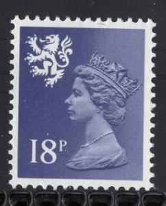 Great Britain Scotland  #SMH33  MNH  Q E II  18 p violet blue  Machin