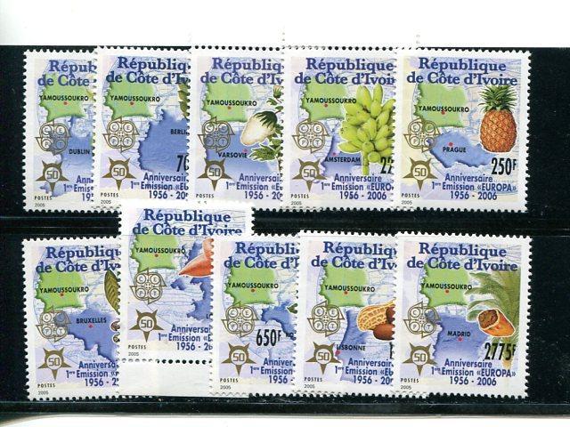 Ivory Coast Europa 2006 Mint VF NH