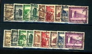 GERMANY #B93-101 USED (2 SETS) F-VF Cat $34