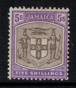 Jamaica 1905-11 SC 45 LH CV $57.50