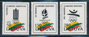 Lithuania - Barcelona and Albertville Olympic Games MNH Sports Set (1992)