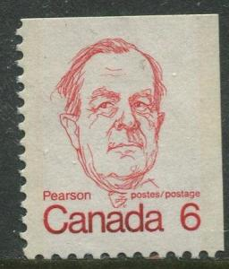 STAMP STATION PERTH Canada #591 Booklet Single Stamp 1972 MNH CV$0.40