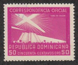 Dominican Republic - 1956 - SC O32 - Used