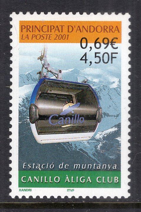 Andorra French 532 MNH VF