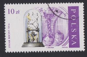 Poland #2850 Clock - Used CTO single