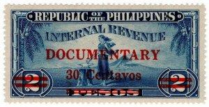 (I.B) Philippines Revenue : Documentary 30c on 2P OP