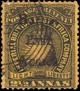 British East Africa Scott 41 Used.