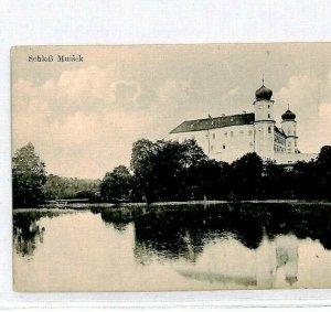AUSTRIA Postcard *Schloss Muisek* MUSIC ARCHITECTURE {samwells-covers}CU72