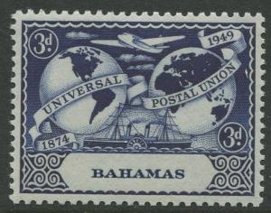 STAMP STATION PERTH Bahamas #151 UPU Issue 1949 MVLH CV$2.75.