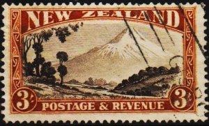 New Zealand. 1935 3s S.G.590c  Fine Used