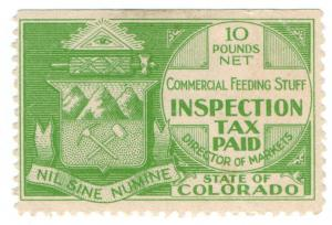 (I.B) US Revenue : Commercial Feeding Stuff Inspection Tax (Colorado)