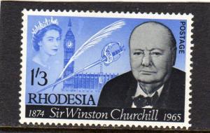 Rhodesia 1965 Sir Winston Churchill MLH