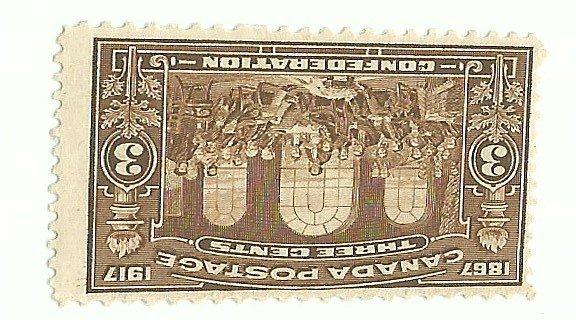 Canada #135   Mint F  1917     PD