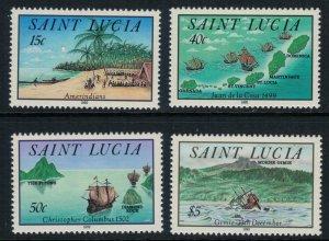 St. Lucia #993-6* NH  CV $14.75