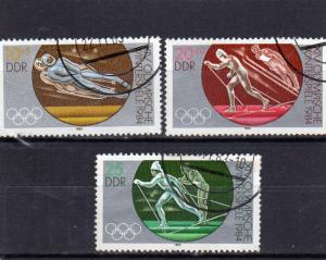 Germany DDR 1984 Winter Olympics used