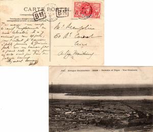 French Guinea 10c Faidherbe 1909 Conakry, Guinee Francaise PPC (Afrique Occid...