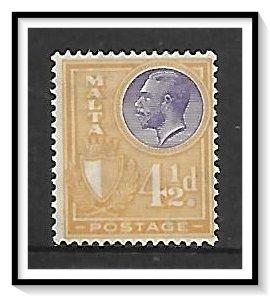 Malta #139 King George V NG