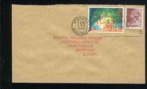 Great Britain 1196,MH51 envelope 1987  PD