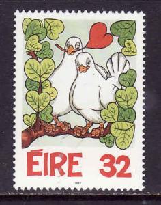 Ireland-Sc#1041-unused NH-Greetings stamp-Birds-1997-