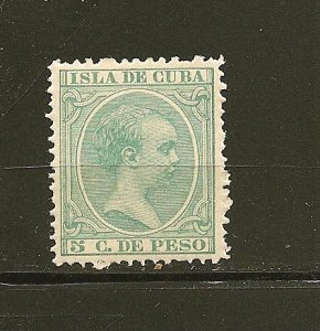 Cuba 144 King Alfonso XIII Mint Hinged