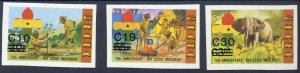 1984 Ghana Boy Scouts 75th anniversary Revalued IMP