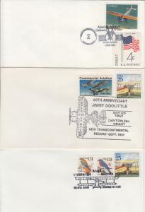 1991-2001 Aviation cancels Various (6) Covers
