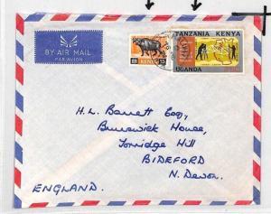 CE182 Kenya *MALINDI* 1971 KUT Stamp Air Mail Cover
