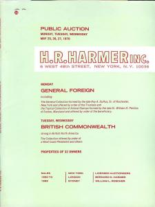 HR Harmer: Sale # 1960-1962  -  General Foreign and Briti...