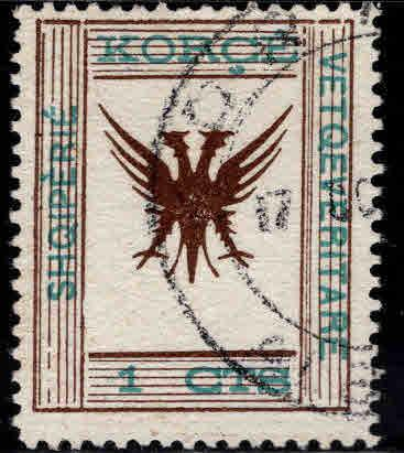 Albania Shqiperise Scott 54 Used double eagle CV$12