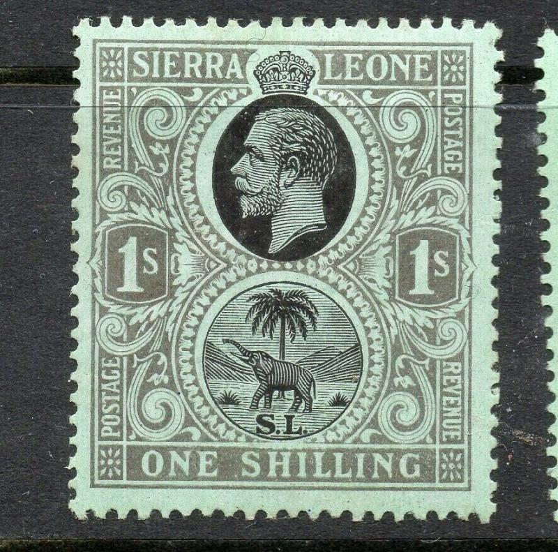 Sierra Leone 1912 Early Issue Fine Mint hinged Shade of 1S. 303687