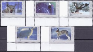 Norway. 2006. 1573-77. Fauna. MNH.