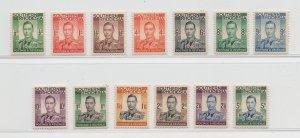 Southern Rhodesia - 1937 - SG 40-52 - MNH