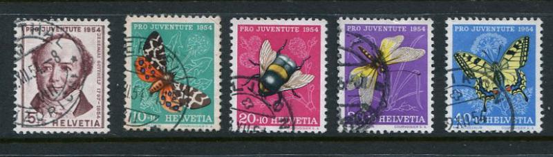 Switzerland #B237-41 Used (Box1)