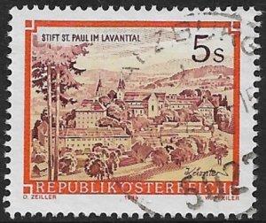 AUSTRIA 1984-85 5s St Paul Abbey Issue Sc 1288 VFU
