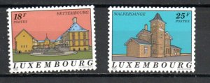 Luxembourg 866-867 MNH
