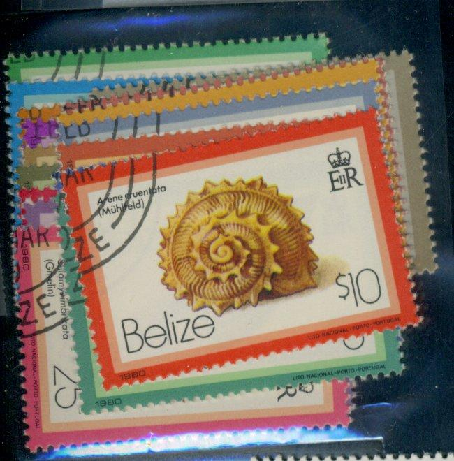 Belize #471-87 Used VF Cat$28