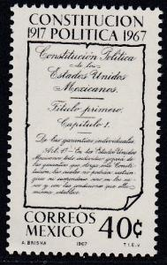 Mexico # 976, Constitution Anniv.,  Mint NH,