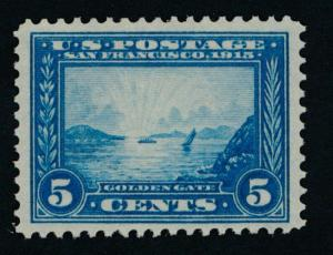 UNITED STATES 399 Mint NH VF 5c Pan Pacific PSE Cert. 85 Grade