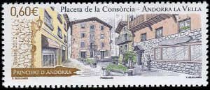 French Andorra 2012 #703 MNH. Consorcia Place