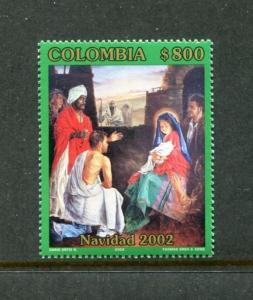 Colombia 1199, MNH, Christmas 2002. x23491