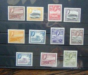 Antigua 1953 - 1962 values to $1.20 MM