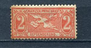 Germany Private Beforderung 1886Mi Spec.#2   Unused  t2175s