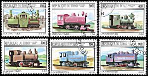 Chad 825-830, CTO, Old Locomotives