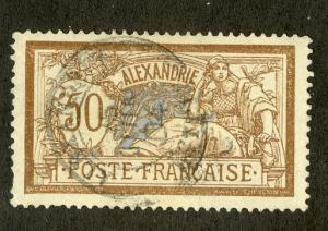 FRENCH OFFICE ABROAD ALEXANDRIA 27 USED SCV $3.00 BIN $1.25 PEOPLE
