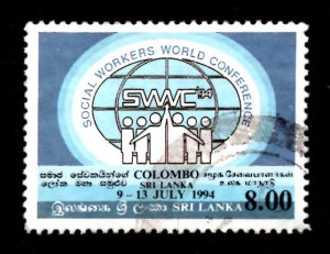 Sri Lanka 1994 World Conf. Federation of Social Workers, Colombo 8r Sc.1104 (#3)