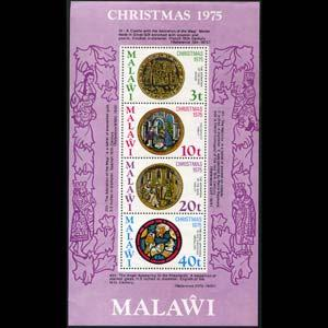 MALAWI 1975 - Scott# 267a S/S Christmas NH