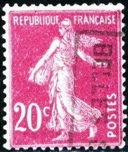 FRANCE #167 , USED - 1926 - FRAN127NS9