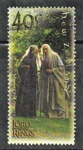 NEW ZEALAND SC# 1750 2001 40c SEE SCAN